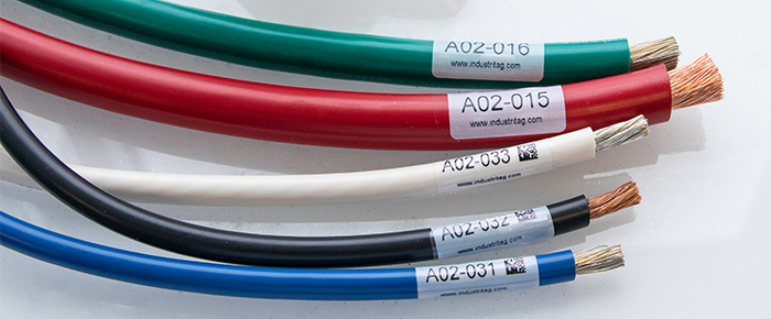 Electrical Wire and Cable Labels